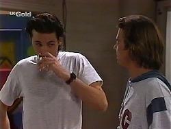 Sam Kratz, Malcolm Kennedy in Neighbours Episode 2275