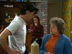 Sam Kratz, Cody Willis, Marlene Kratz in Neighbours Episode 2275
