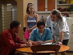 Ben Atkins, Sarah Beaumont, Nick Atkins, Toadie Rebecchi in Neighbours Episode 3036