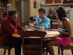 Ben Atkins, Nick Atkins, Sarah Beaumont in Neighbours Episode 3036