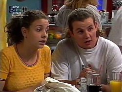 Hannah Martin, Toadie Rebecchi in Neighbours Episode 3036