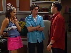 Sarah Beaumont, Nick Atkins, Ben Atkins in Neighbours Episode 3036