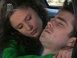 Caitlin Atkins, Josh Hughes in Neighbours Episode 3036