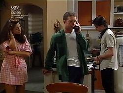 Sarah Beaumont, Ben Atkins, Nick Atkins in Neighbours Episode 3036