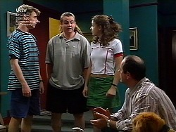 Lance Wilkinson, Toadie Rebecchi, Hannah Martin, Philip Martin in Neighbours Episode 3036