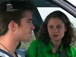 Josh Hughes, Caitlin Atkins in Neighbours Episode 3037