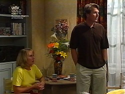 Ruth Wilkinson, Geoff Burke in Neighbours Episode 3037