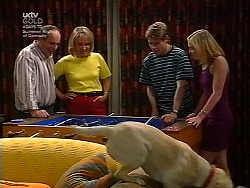 Philip Martin, Ruth Wilkinson, Lance Wilkinson, Amy Greenwood in Neighbours Episode 3037