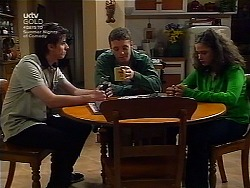 Nick Atkins, Ben Atkins, Caitlin Atkins in Neighbours Episode 3037
