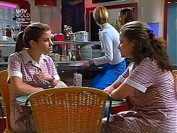Anne Wilkinson, Caitlin Atkins in Neighbours Episode 3038