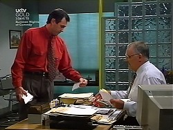 Karl Kennedy, Harold Bishop in Neighbours Episode 3038