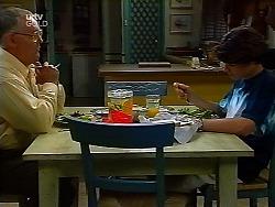 Harold Bishop, Paul McClain in Neighbours Episode 3040