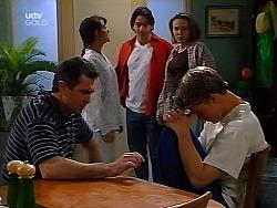 Karl Kennedy, Susan Kennedy, Darren Stark, Libby Kennedy, Billy Kennedy in Neighbours Episode 3040