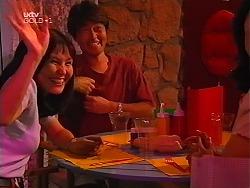 Yukihiro Masuda, Kimiko Nagata in Neighbours Episode 3096