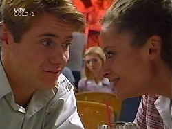 Lance Wilkinson, Amy Greenwood, Caitlin Atkins in Neighbours Episode 3097