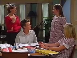 Libby Kennedy, Billy Kennedy, Anne Wilkinson, Amy Greenwood in Neighbours Episode 3097