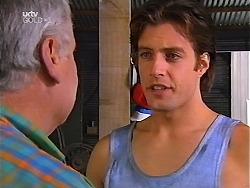 Lou Carpenter, Drew Kirk in Neighbours Episode 3097