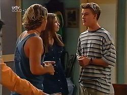 Joel Samuels, Anne Wilkinson, Billy Kennedy in Neighbours Episode 3099