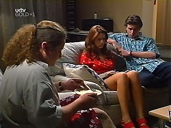 Toadie Rebecchi, Sarah Beaumont, Nick Atkins in Neighbours Episode 3099