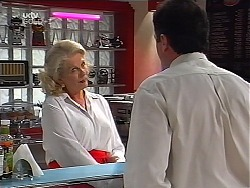 Madge Bishop, Karl Kennedy in Neighbours Episode 3099