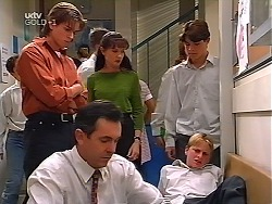 Nick Atkins, Karl Kennedy, Susan Kennedy, Mickey Dalton, Paul McClain in Neighbours Episode 3099