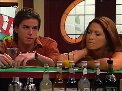 Nick Atkins, Sarah Beaumont in Neighbours Episode 3099