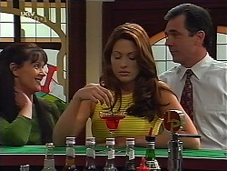 Susan Kennedy, Sarah Beaumont, Karl Kennedy in Neighbours Episode 3099