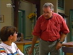 Paul McClain, Harold Bishop in Neighbours Episode 3099