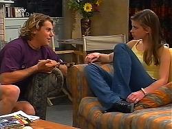 Joel Samuels, Anne Wilkinson in Neighbours Episode 3099