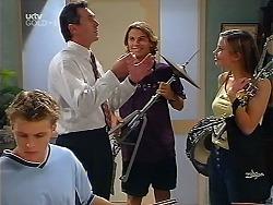 Billy Kennedy, Karl Kennedy, Joel Samuels, Anne Wilkinson in Neighbours Episode 3099