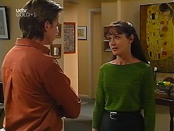 Nick Atkins, Susan Kennedy in Neighbours Episode 3099