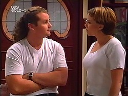 Toadie Rebecchi, Libby Kennedy in Neighbours Episode 3100
