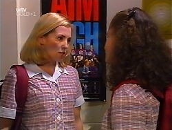 Amy Greenwood, Caitlin Atkins in Neighbours Episode 3100
