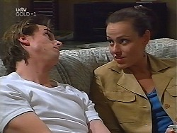 Nick Atkins, Jacquie Boyd in Neighbours Episode 3100