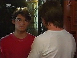 Paul McClain, Nick Atkins in Neighbours Episode 3100
