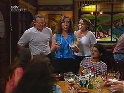 Toadie Rebecchi, Kylie Roberts, Libby Kennedy, Sal Phillips in Neighbours Episode 3100