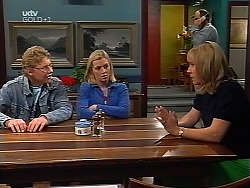 Patrick Greenwood, Amy Greenwood, Philip Martin, Ruth Wilkinson in Neighbours Episode 3132