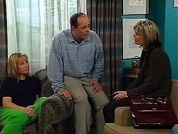 Ruth Wilkinson, Philip Martin, Josie Greenwood in Neighbours Episode 3132