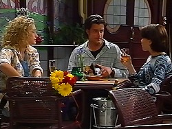Shelley Harris, Drew Kirk, Libby Kennedy  in Neighbours Episode 3132