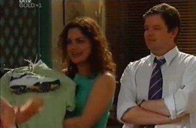 Liljana Bishop, David Bishop in Neighbours Episode 4461