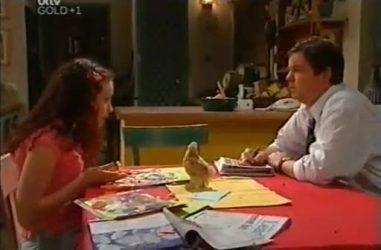 Serena Bishop, David Bishop in Neighbours Episode 4461
