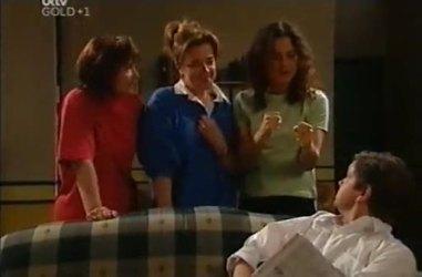 Susan Kennedy, Lyn Scully, Liljana Bishop, David Bishop in Neighbours Episode 4461