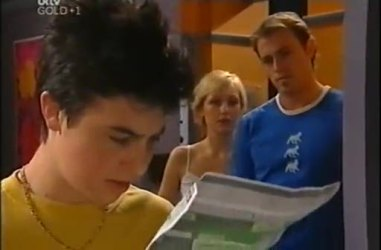 Stingray Timmins, Sindi Watts, Stuart Parker in Neighbours Episode 4467