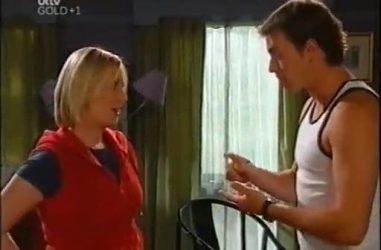 Sgt. Joanna Douglas, Stuart Parker in Neighbours Episode 4467