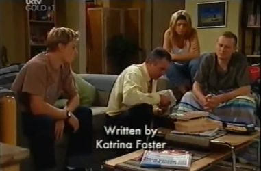 Boyd Hoyland, Karl Kennedy, Izzy Hoyland, Max Hoyland in Neighbours Episode 4471