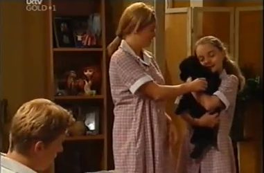Boyd Hoyland, Sky Mangel, Summer Hoyland in Neighbours Episode 4471