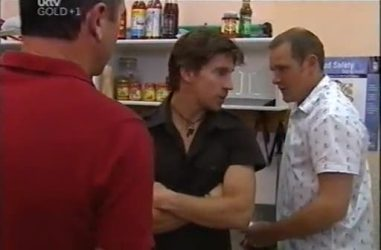 Karl Kennedy, Gus Cleary, Max Hoyland in Neighbours Episode 4471