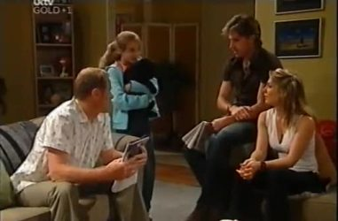 Max Hoyland, Summer Hoyland, Gus Cleary, Izzy Hoyland in Neighbours Episode 4471