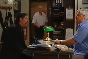 Rocco Cammeniti, Harold Bishop, Lou Carpenter in Neighbours Episode 4472