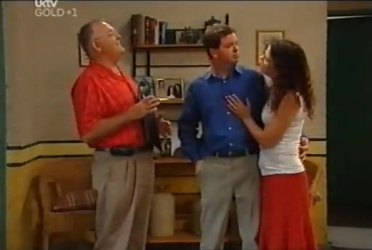 Harold Bishop, David Bishop, Liljana Bishop in Neighbours Episode 4480